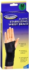 Bell-Horn Elastic Stabilizing Wrist Brace Medium Right  -  1 EA