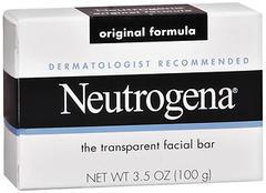 Neutrogena Transparent Facial Bar  Original Formula Soap 3.5 oz