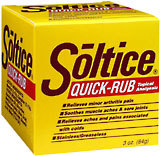 Soltice Quick Rub Topical Analgesic - 3 Ounces