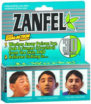 Zanfel Poison Ivy Wash - 1 Ounces