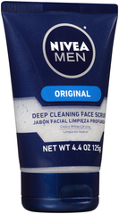 Nivea For Men Revitalizing Face Scrub - 4.4 Ounces