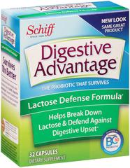 Digestive Advantage Caplets Lactose Intolerance Therapy  -  32 Caplets