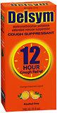 Delsym Cough Suppressant, Extended-Release Suspension, 12 Hour, Orange Taste  - 5oz