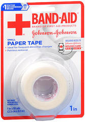 BAND-AID Paper Tape Small - 1in x 10yd