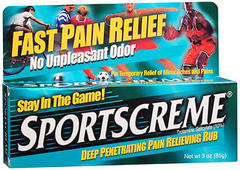 Sportscreme Rub - 3 Ounces