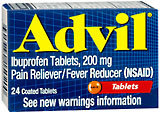 Advil Ibuprofen, 200 mg, Coated Tablets  - 24ea