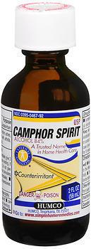 Humco Camphor Spirit USP - 2 OZ