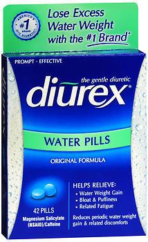 Diurex Water Pills - 42 Each