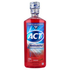 Reach Anticavity Fluoride Rinse, Cinnamon  - 18oz