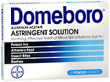 Domeboro Astringent Solution - 12 Powder Packets