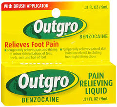 Outgro Pain Relieving Liquid, Relieves Foot Pain  - 0.31oz