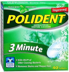 Polident Denture Cleanser, Tablets  - 40ea
