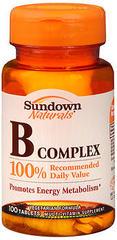 Sundown B Complex Tablets - 100 Tab