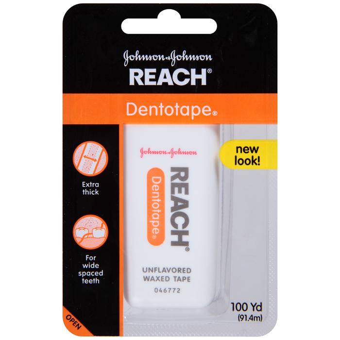 Reach Dentotape Waxed Ribbon Floss  - 100yd