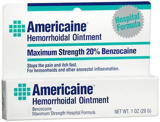 Americaine Hemorrhoidal Ointment - 1 Ounces