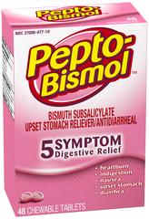 Pepto-Bismol Chewable Tablets  - 48ea