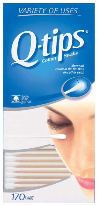 Q-Tips Cotton Swabs  - 170ea