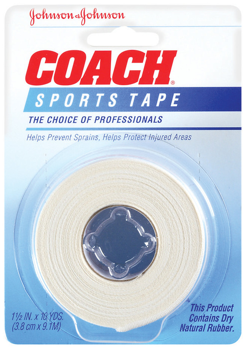 Johnson & Johnson Sports Tape, 1-1/2-Inch  - 1ea