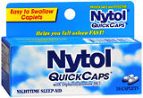 Nytol Nighttime Sleep-Aid with Diphenhydramine HCI, Caplets  - 16ea