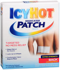 ICY HOT Medicated Patches Back and Large Areas - 5 EA