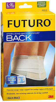 FUTURO Stabilizing Back Support L-XL Beige - 1 EA