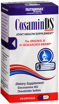 Nutramax Cosamin DS Joint Health Supplement Capsules - 210 CAP