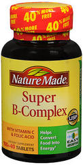Nature Made Super B-Complex Dietary Supplement Tablets - 140 TAB
