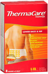 ThermaCare HeatWraps Lower Back & Hip Size L-XL - 2 EA