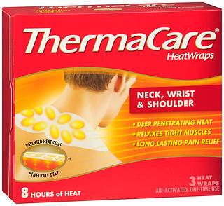 ThermaCare HeatWraps Neck, Wrist & Shoulder - 3 EA