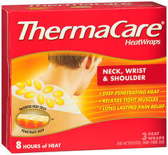 ThermaCare HeatWraps Neck, Wrist & Shoulder - 3 EA