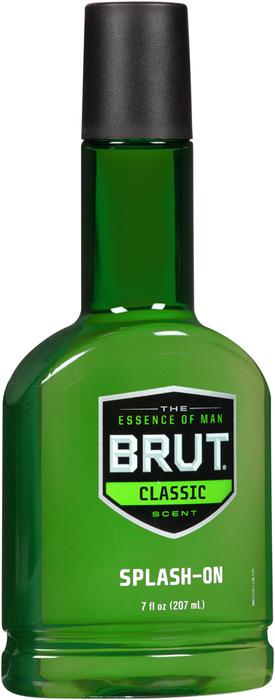 Brut Splash-On Scent Classic Scent - 7 OZ