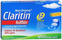 CLARITIN 12 Hour Allergy RediTabs - 10 TAB