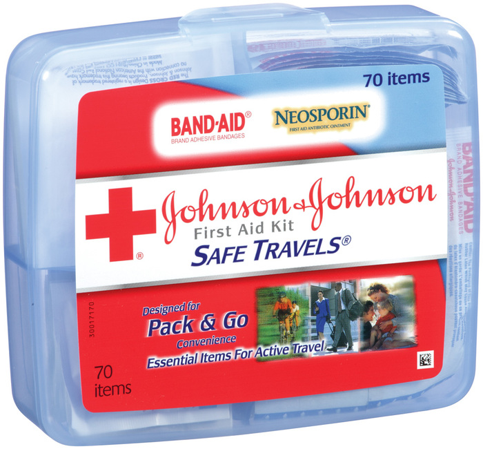 Johnson & Johnson Red Cross Safe Travels First Aid Kit - 1 EA