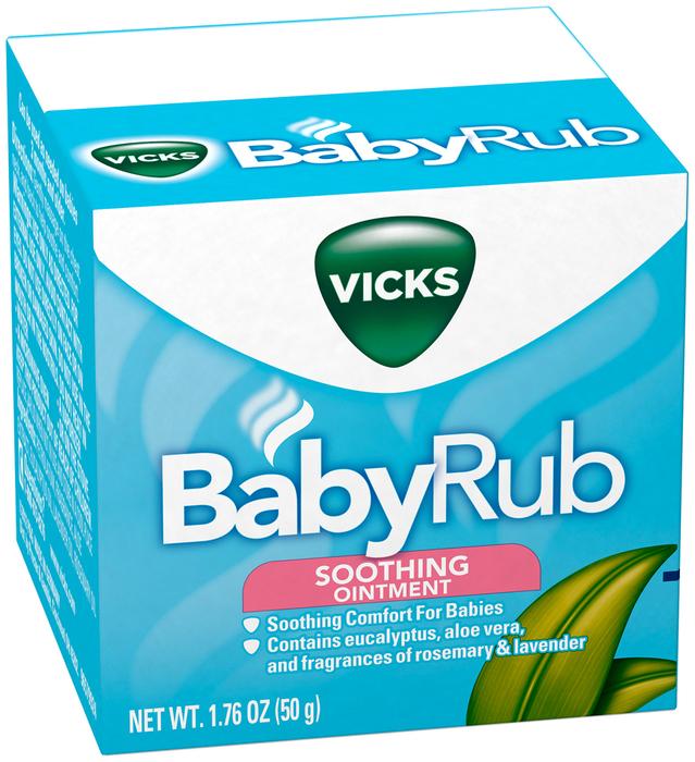 Vicks BabyRub Soothing Ointment - 1.76 OZ