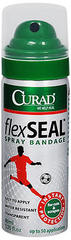 Curad FlexSeal Spray Bandage - 1.3333 OZ