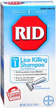 Rid Lice Killing Shampoo Step 1 - 2 OZ