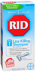 RID Lice Killing Shampoo Step 1 - 4 OZ