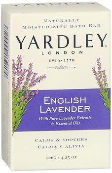 Yardley London Naturally Moisturizing Bath Bar English Lavender - 4.25 OZ