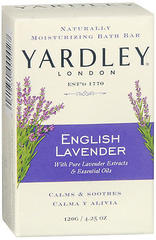 Yardley London Naturally Moisturizing Bath Bar English Lavender - 4.25 OZ