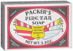 PACKER'S Pine Tar Soap - 3.3 OZ
