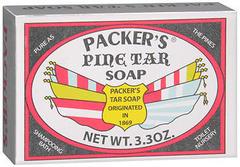 PACKER'S Pine Tar Soap - 3.3 OZ
