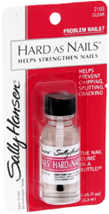 SALLY H HARD NAIL CLEAR 2103