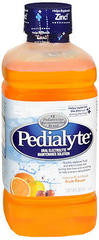 Pedialyte Oral Electrolyte Maintenance Solution Fruit Flavor - 33.8 OZ