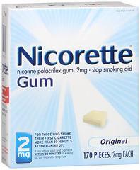 Nicorette Gum 2 mg Original - 170 EA