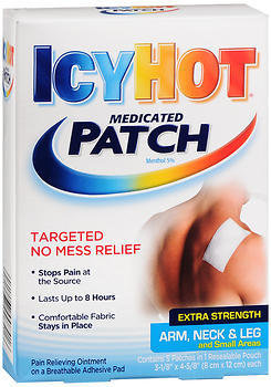 ICY HOT Medicated Patches Extra Strength Arm, Neck & Leg - 5 UNIT