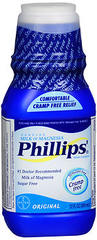 Phillips' Milk of Magnesia Saline Laxative Original - 12 OZ