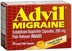 Advil Migraine Liquid Filled Capsules - 20 CAP