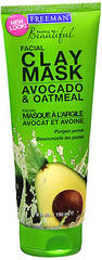 Freeman Feeling Beautiful Facial Clay Mask Avocado & Oatmeal - 6 OZ