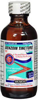 Humco Benzoin Compound Tincture - 2 OZ