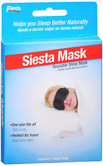 Flents Siesta Mask Reusable Sleep Mask - 1 EA